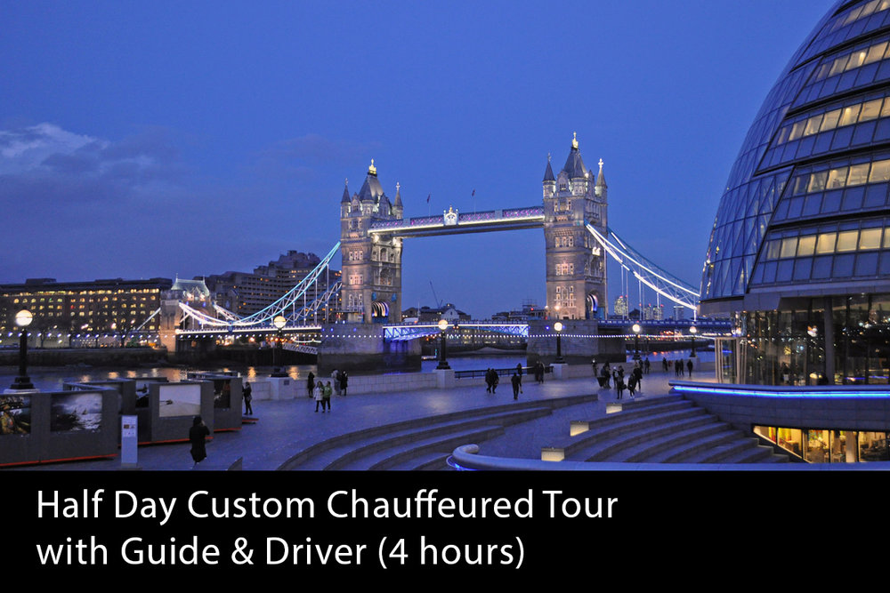 Half Day Chauffeured London Tour (4 hours) -   From £440