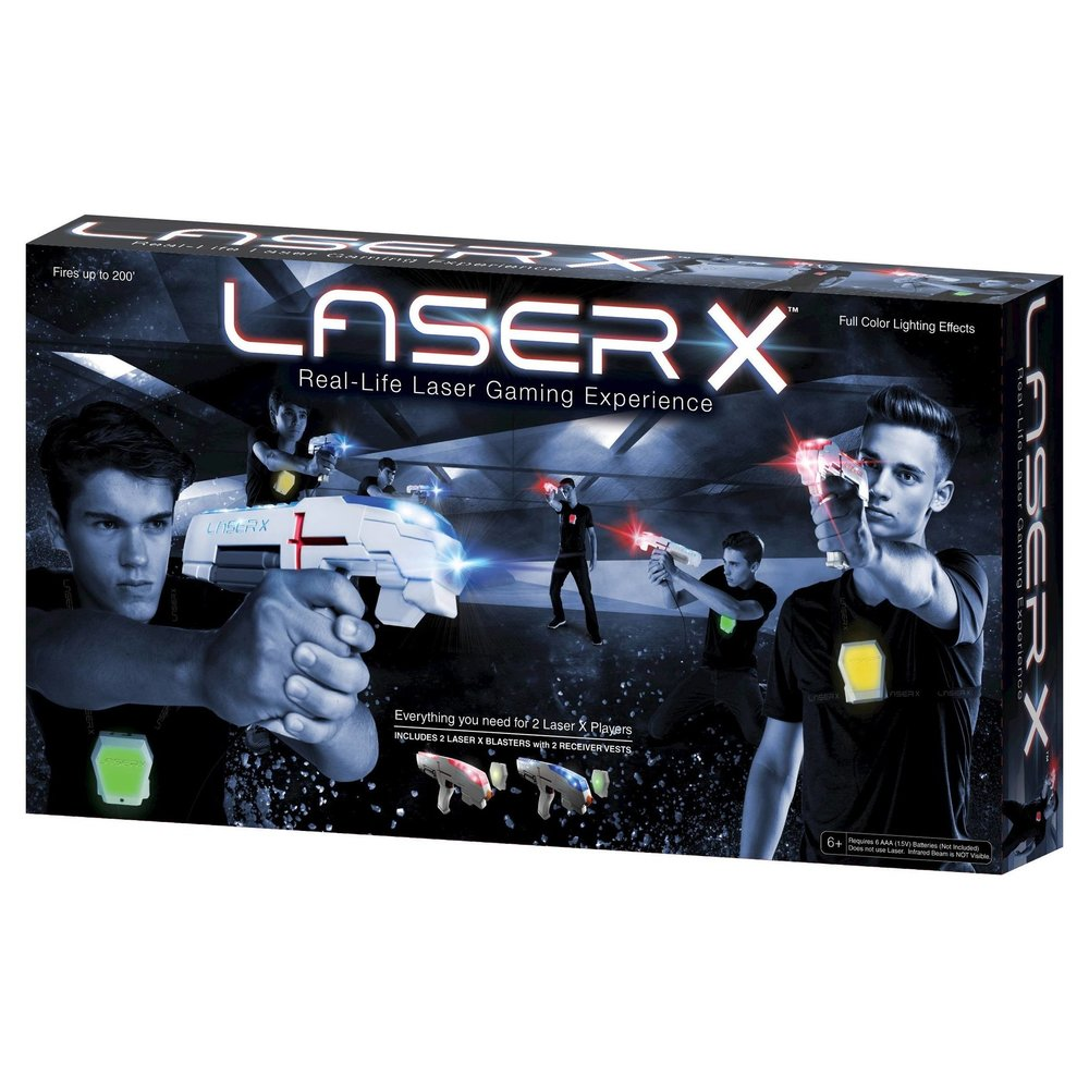 LASER TAG GAME... - because them and their friends would have a blast