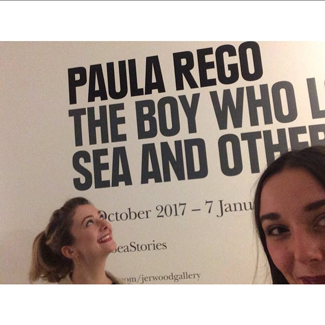 We were one LDGer and a few chips down at Paula Rego's private view on Friday @jerwood_gallery! We had an amazing night talking to some amazing people, a little star struck seeing Paula and came away incredibly inspired and excited! Massive thank you to Jerwood for inviting us. Can't wait for the workshops  #paularego #jerwood #drawing #depressionseries #hastings