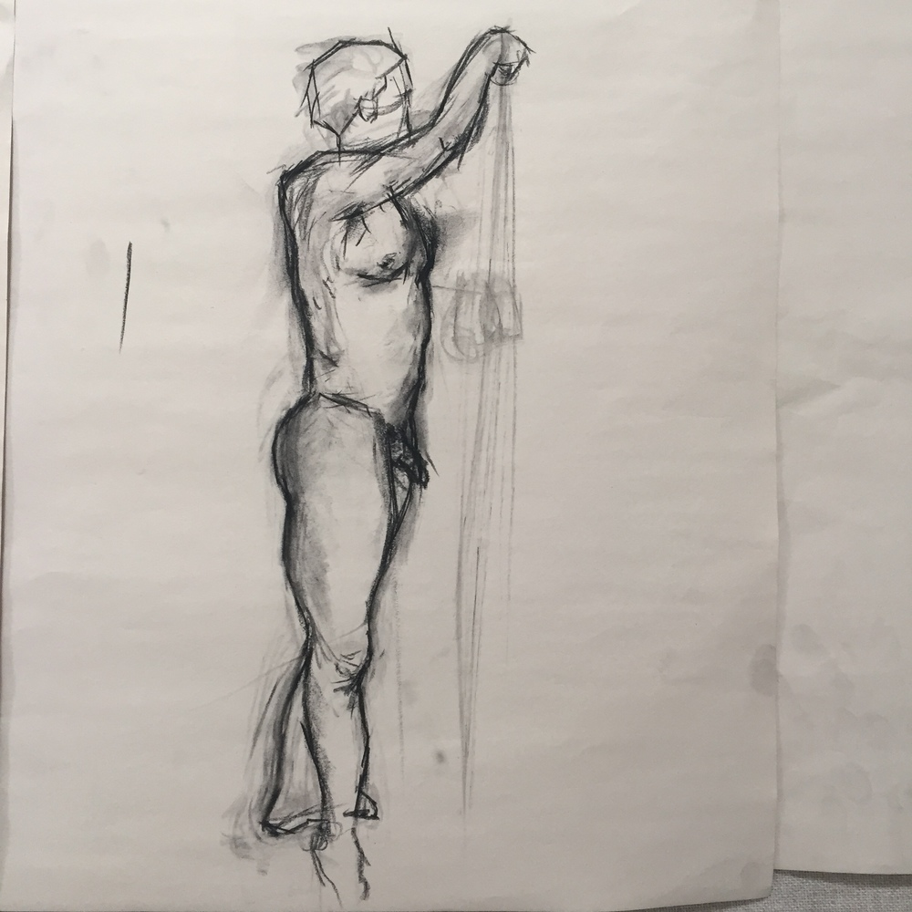 10 minute figure drawing