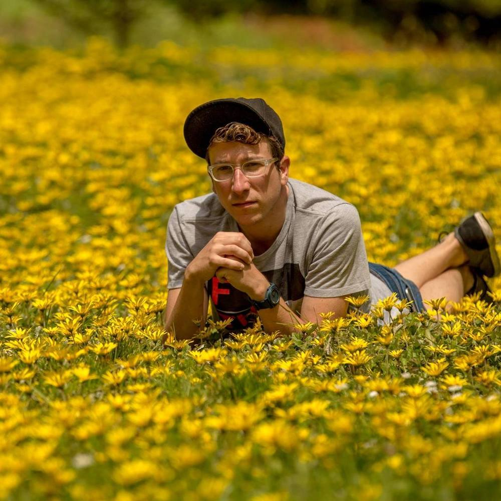 "Totally masc, bro. (This was a funny little test shot for portraits in Golden Gate Park's ""Doughboy Meadow"")"