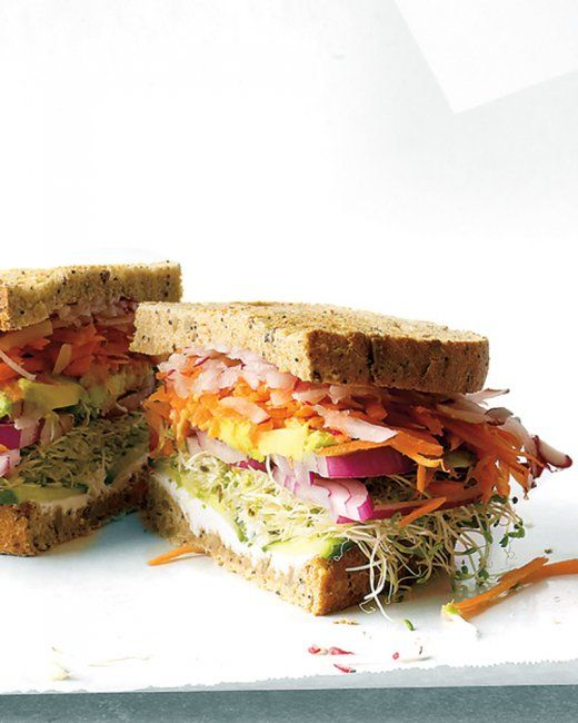 California Veggie Sandwich -