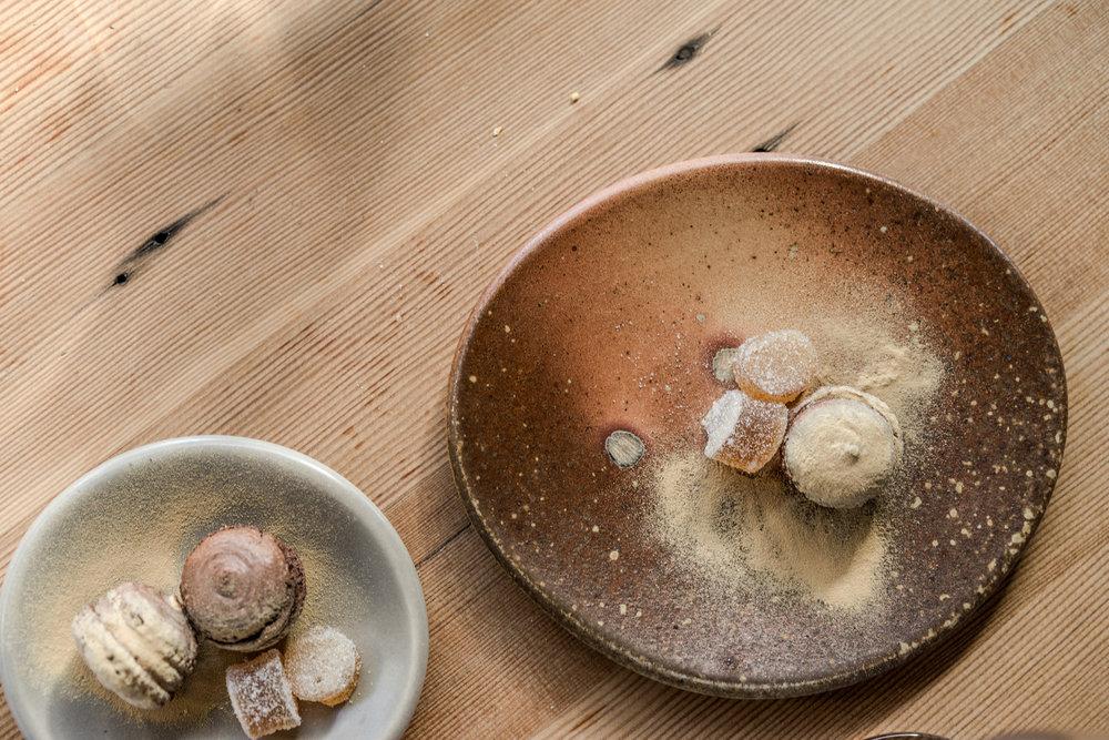 Soter tasting Luscious Porcelain 2018 dessert woodfired McSwain.JPG