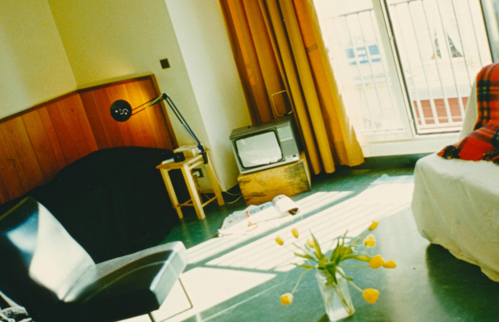 BED AND LIVING SPACE, KEESING STUDIO, PARIS, 1989