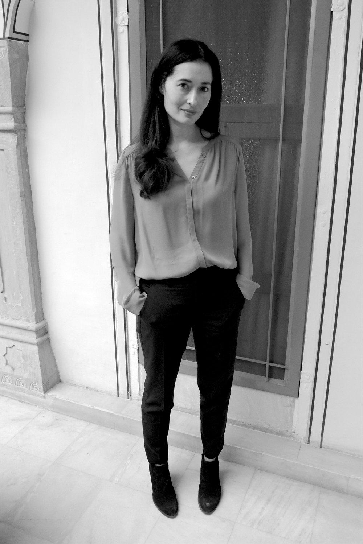 Charmaine Craig, novelist, Jaipur, India, 2018