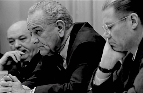 TV coverage of the Vietnam War ultimately defeated Lyndon Baines Johnson.