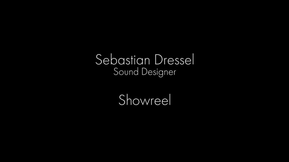 A Showreel With Selection Of Sebastian Dressels Work