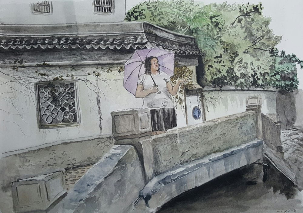 Rain in Suzhou