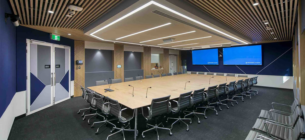 Monash University George Lush Boardroom