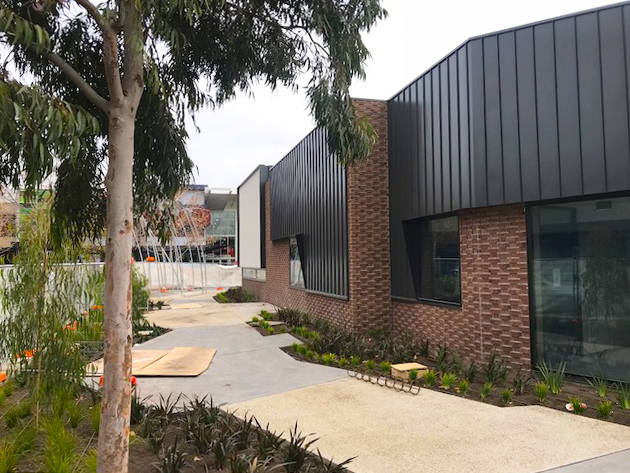 Progress at the Point Cook Community Learning Centre