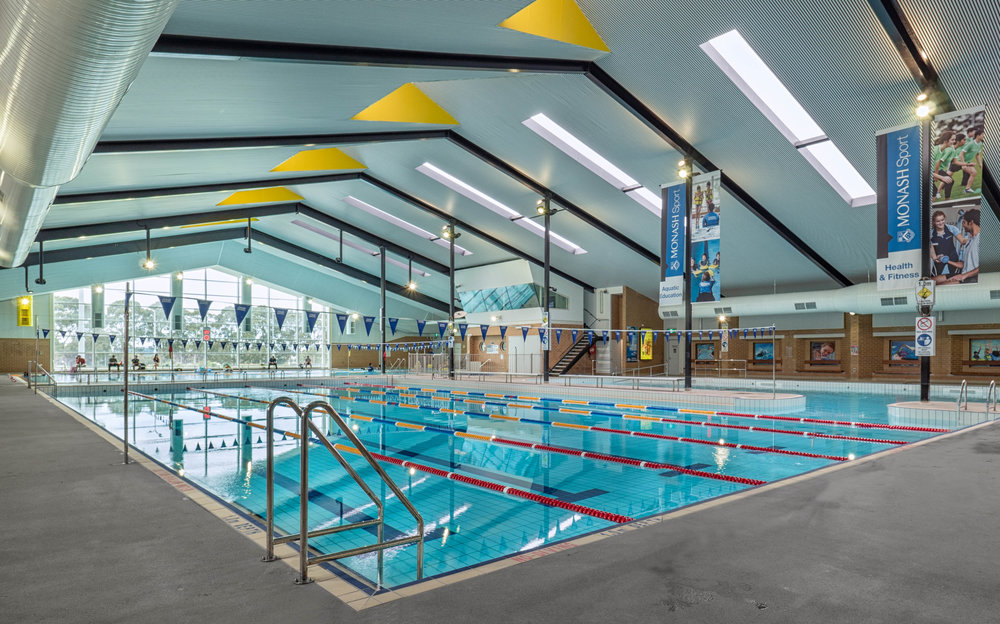 Monash Clayton Doug Ellis Swimming Pool