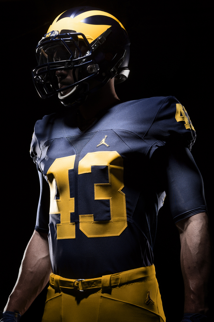 Michigan Jordan Gear >> More Pictures Released Of Michigan's New Jordan Brand ...