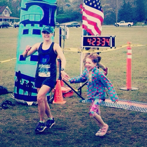 I loved this race! We made this a family weekend getaway. As soon as we got on the Ferry we could feel the race energy. My kids were excited for the weekend. We celebrated my daughter's 7th Birthday - so amazing for me to cross the finish line holding her hand. My 13 year old nephew also ran his second FULL marathon and had a PR by over an hour.   The volunteers were kind and supportive.  The course was beautiful despite the rain.  We will be back for certain! Thank you for a well organized and welcoming event!   -Judy