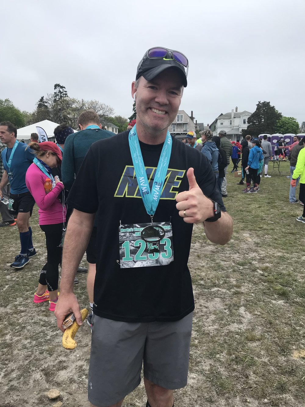 """I ran the MV 1/2 marathon and it was a great experience!  The course was relatively flat and scenic, especially the last few miles along State Beach. Plenty of in-race and post-race refreshments. And, the race logistics were really well organized & executed.""  -Bill"