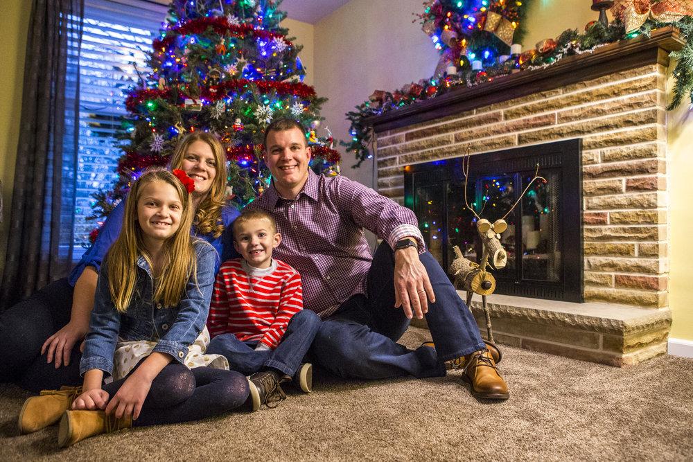 family portraits christmas