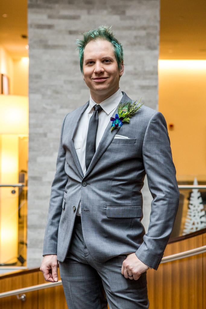 styled shoot groom