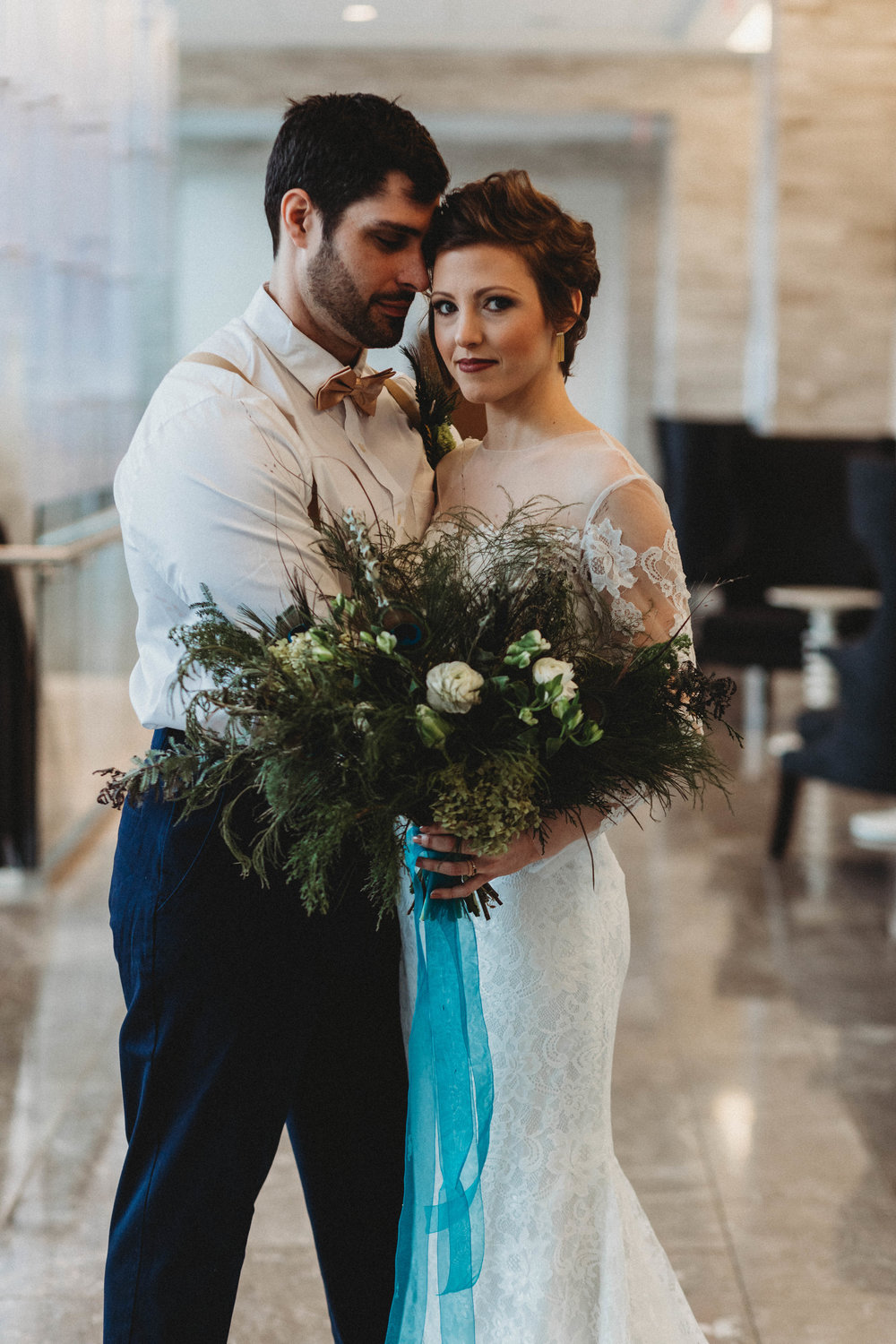styled shoot winter columbus ohio hilton downtown