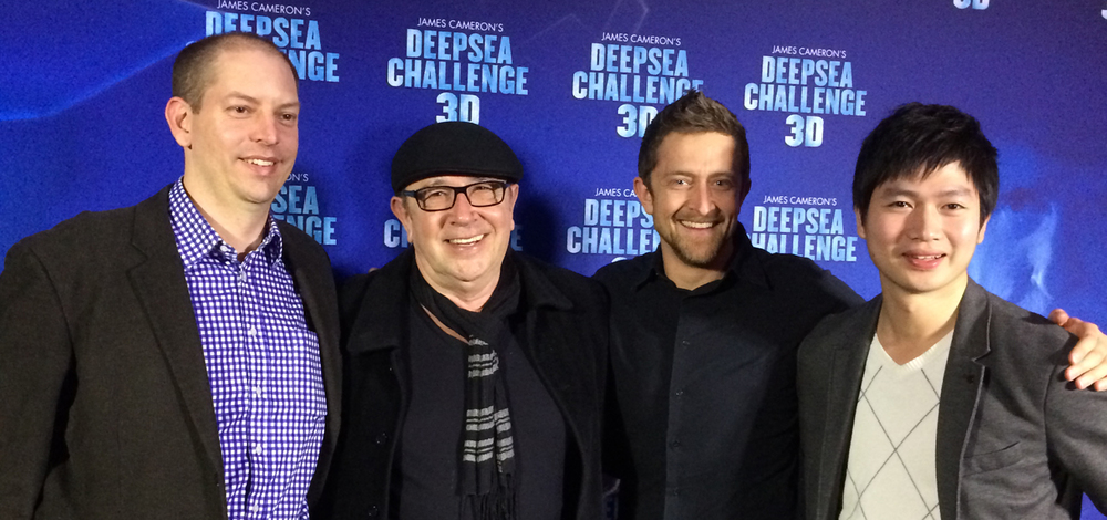 D+I team at the premiere