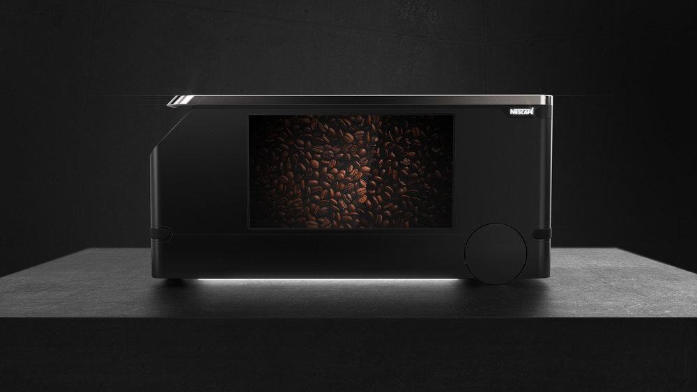 Nestle Coffee Cart Facing