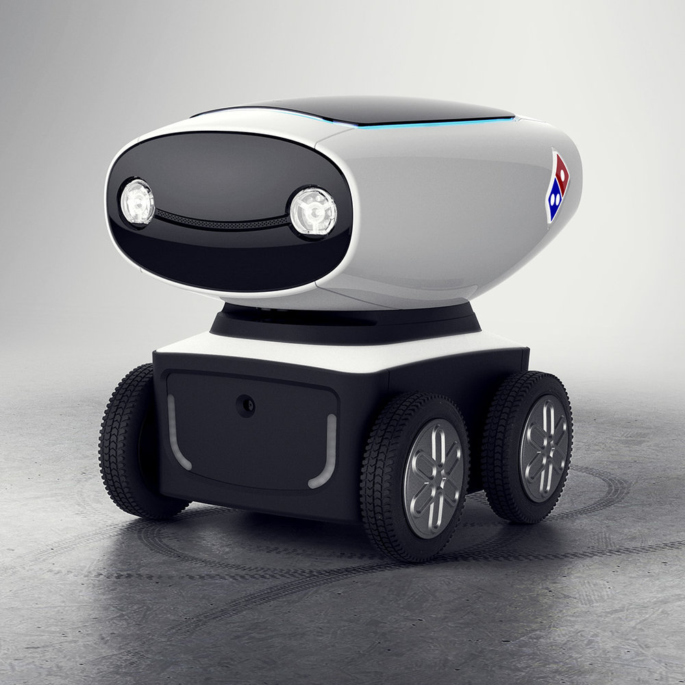Domino's - dru delivery robot