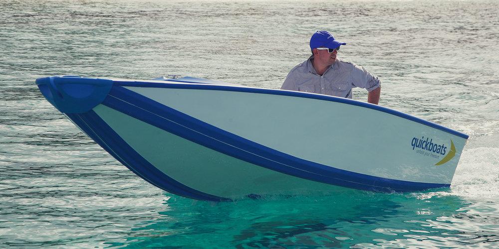 QuickBoats - folding boat