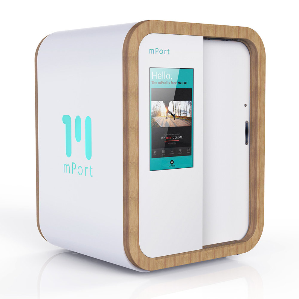 mPort mPod 3D Body Scanner