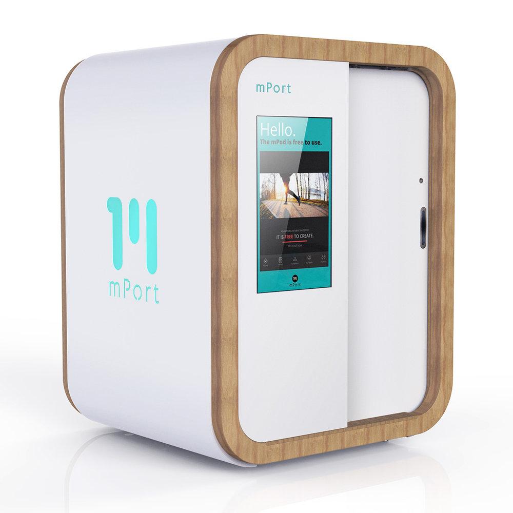 mPort - mpod 3d body scanner