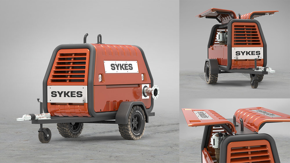 Sykes Yakka — Trailer Pump (2006)