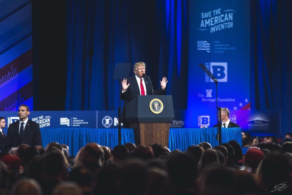 CPAC 2017: Donald Trump