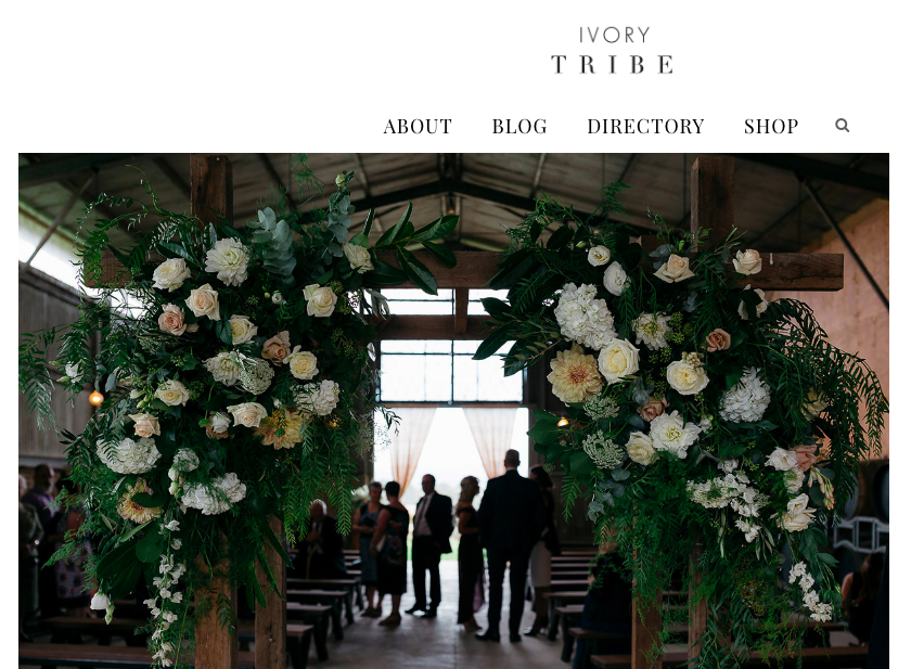 Ivory Tribe (Liz & Dayne) - http://ivorytribe.com.au/real-wedding-lizzy-dayne-yarra-valley-vic/