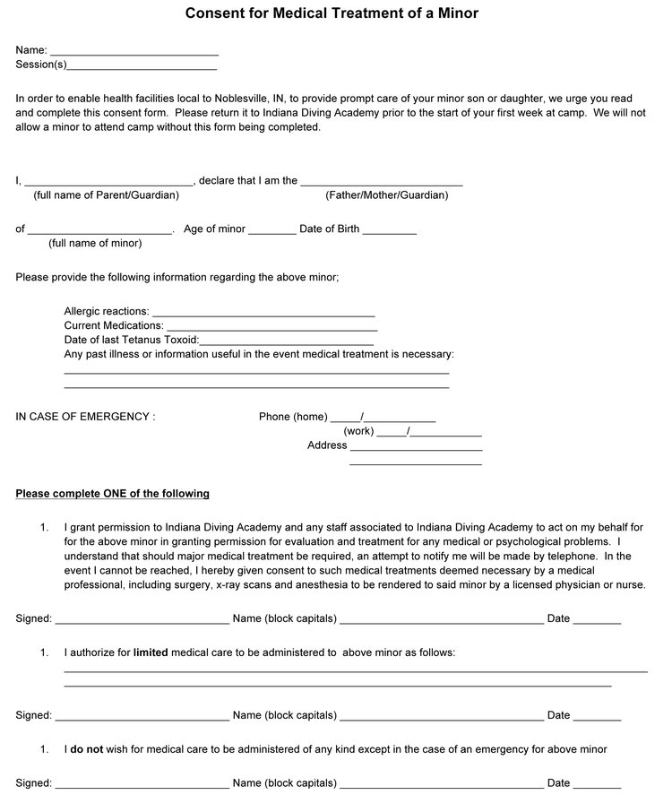 Medical Consent Form  Ripfest