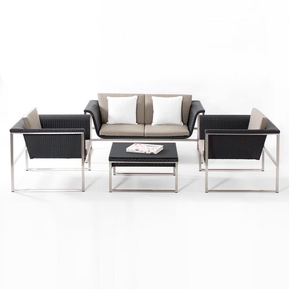 Zora black lounge