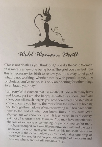Melanie, your sharing of this card and your insights was so powerful and inspiring. As we call in the magical energy of rebirth, I cannot think of a better message. Thank-you for sharing your personal journey with us - truly an honour!