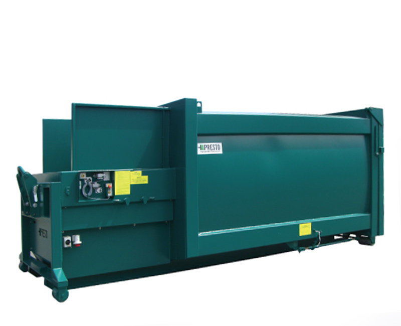 Pendulum Compactor For organic waste. View