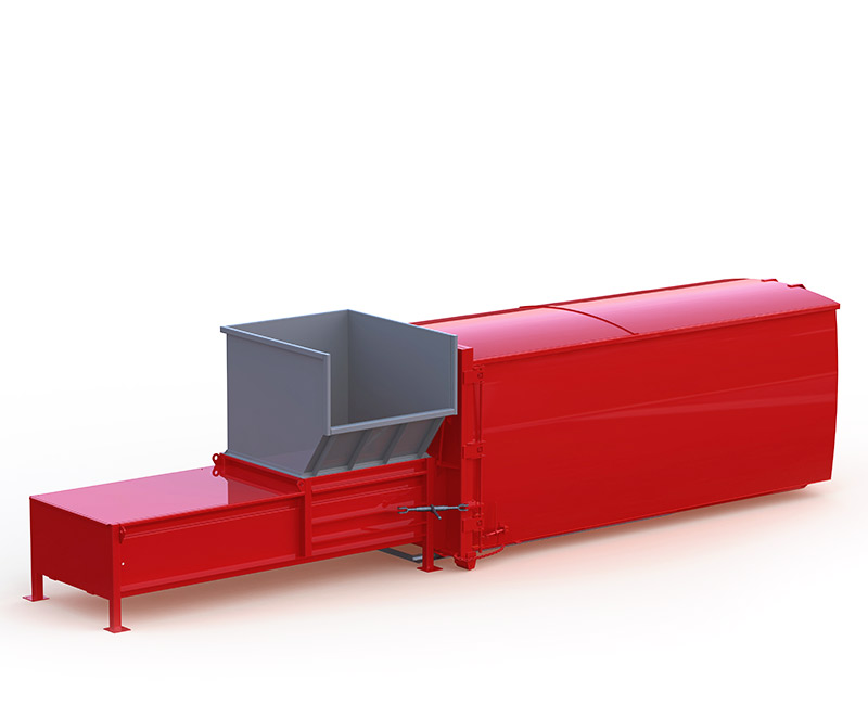 S2000 Stationary Compactor View