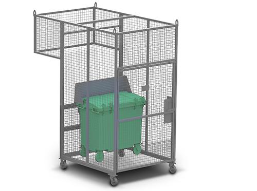 Wastech Slimline Bin Lifter
