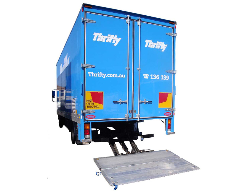 Aluminium Platform Tuckaway Tail Lift TK1000