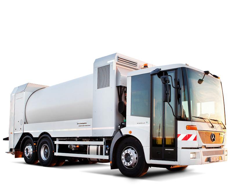 Rotapress Garbage Truck