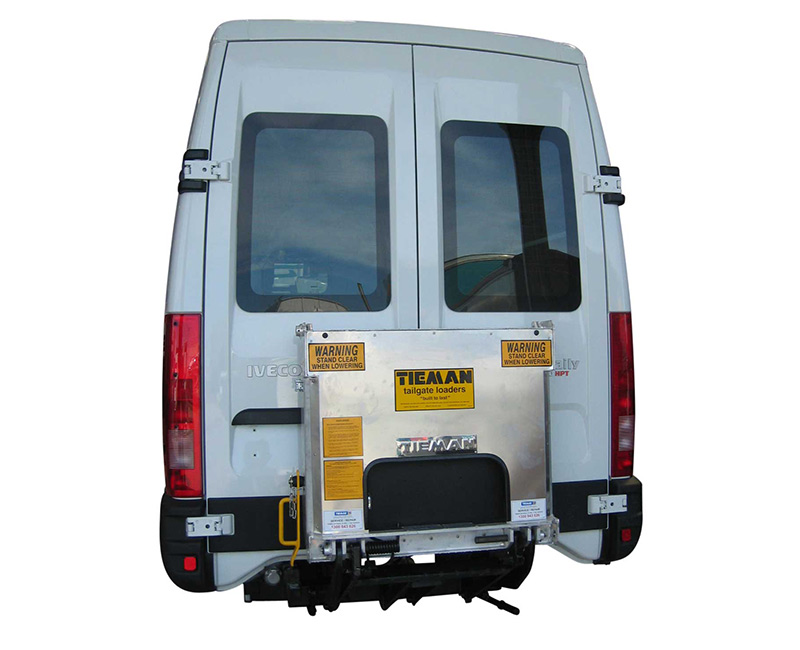 Aluminium Folding Tail Lift - TC350A