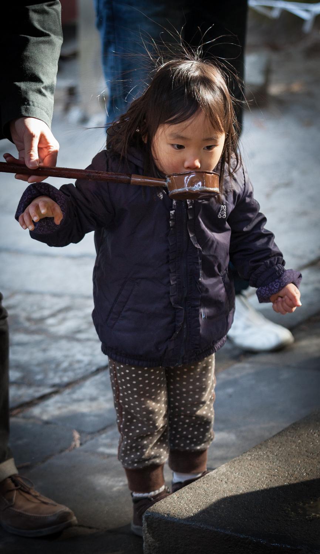 At the Shrine, Nikko, Japan, 2012