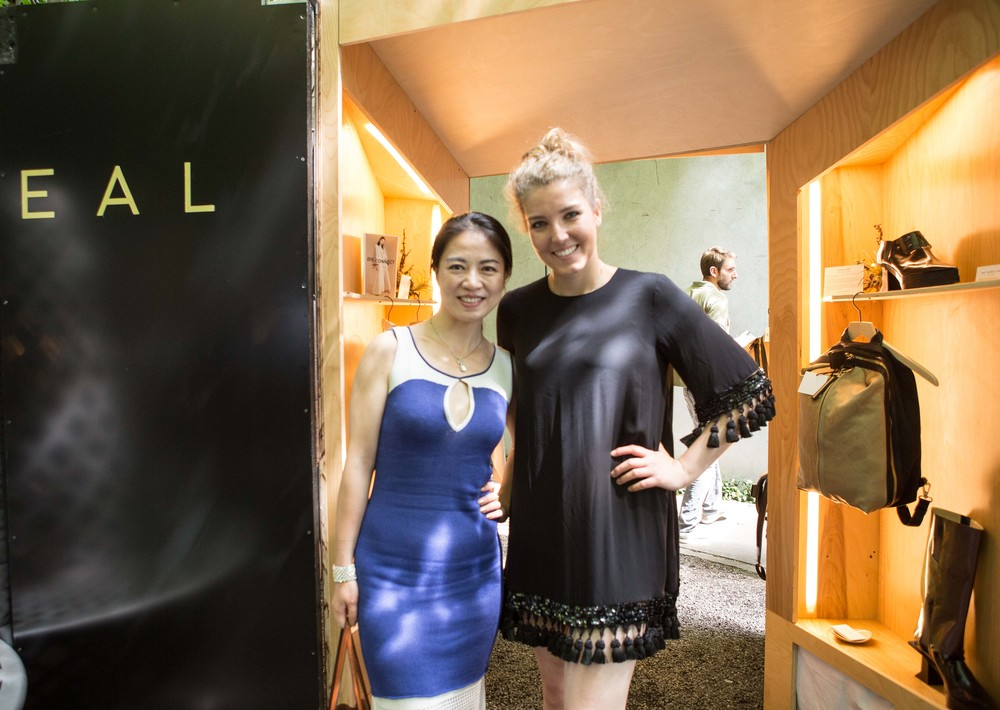 Jia of Jia Collection with Megan of by REVEAL