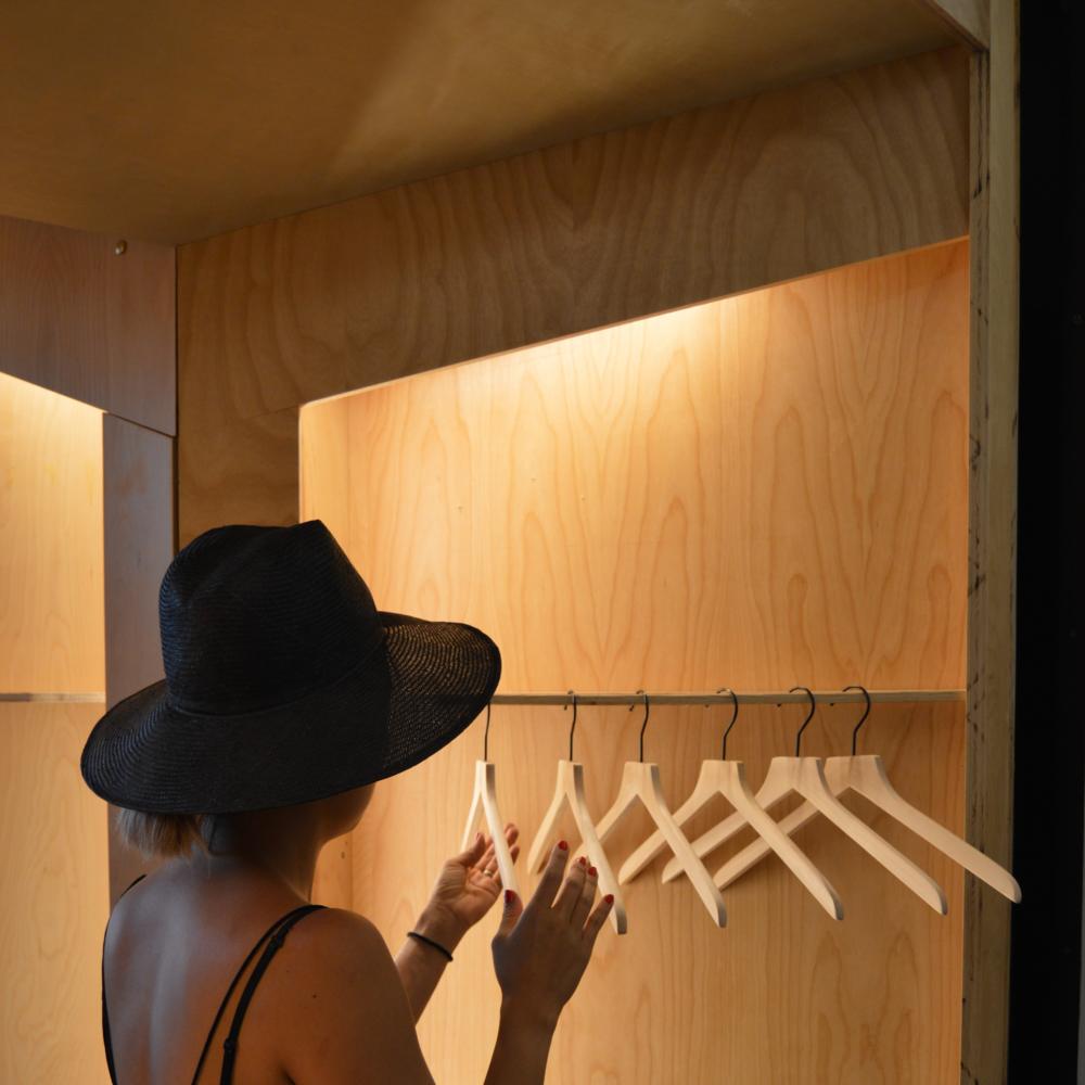 Stylist Jenn Park in our NYC Studio