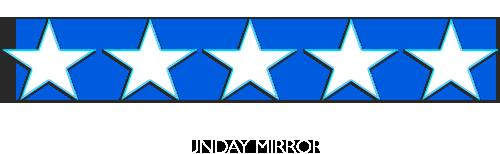 The Bodyguard 5 Stars (Sunday Mirror)