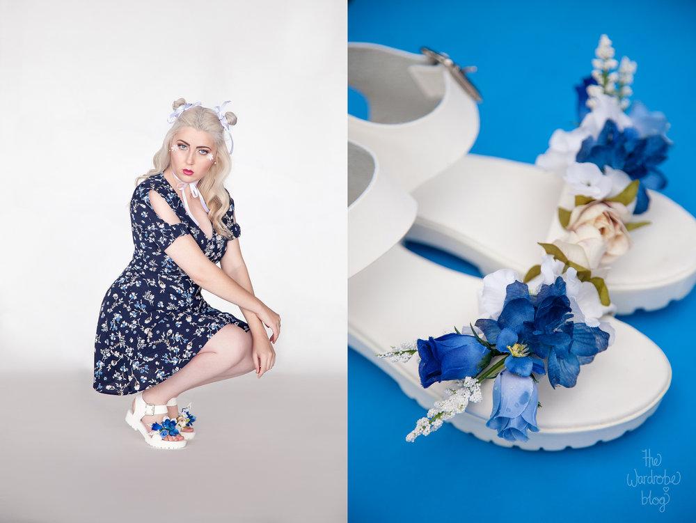 Pagani-Blue-Floral-Heels-DIY