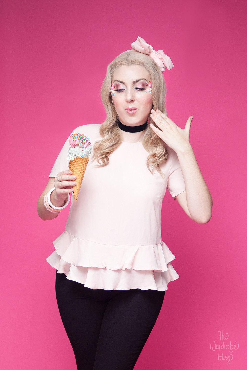 Icecream-Kmart-Pink-Pinup-Portrait
