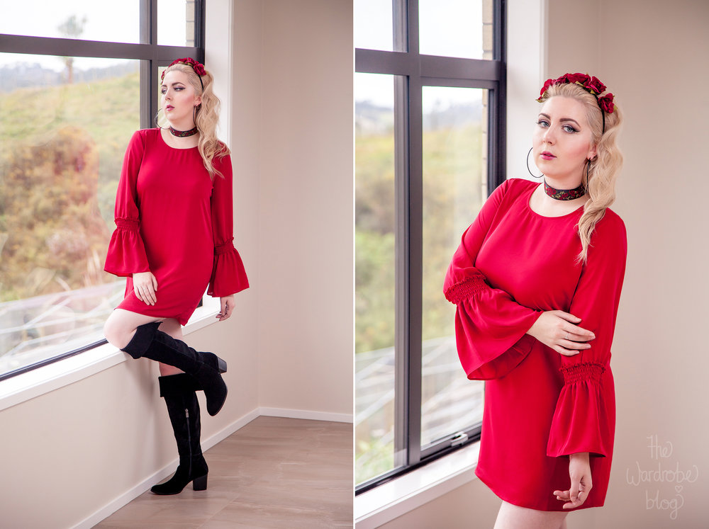 Rouge-Dress-Collette-Spring-Red