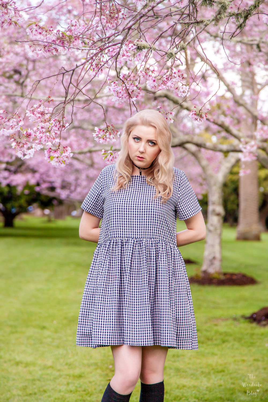 Spring-Flower-Huffer-Dress-Spring-Cherry-Blossom