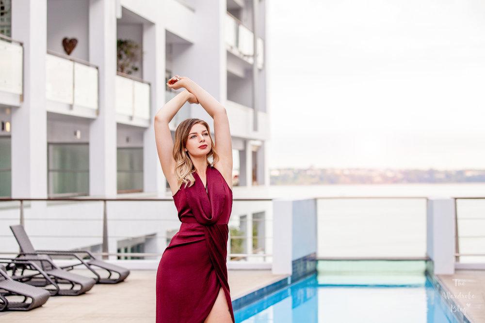 Antoinette-Bon-Bon-The-Hilton-Hotel-Pool