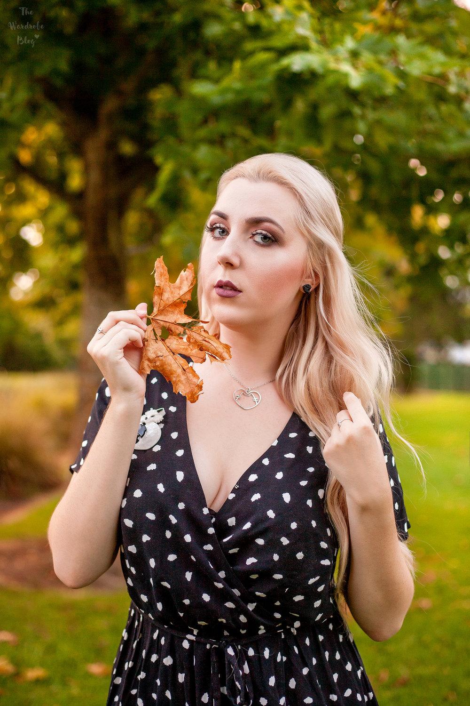 Autumn-Light-Portrait-Polka-Dot-Kmart