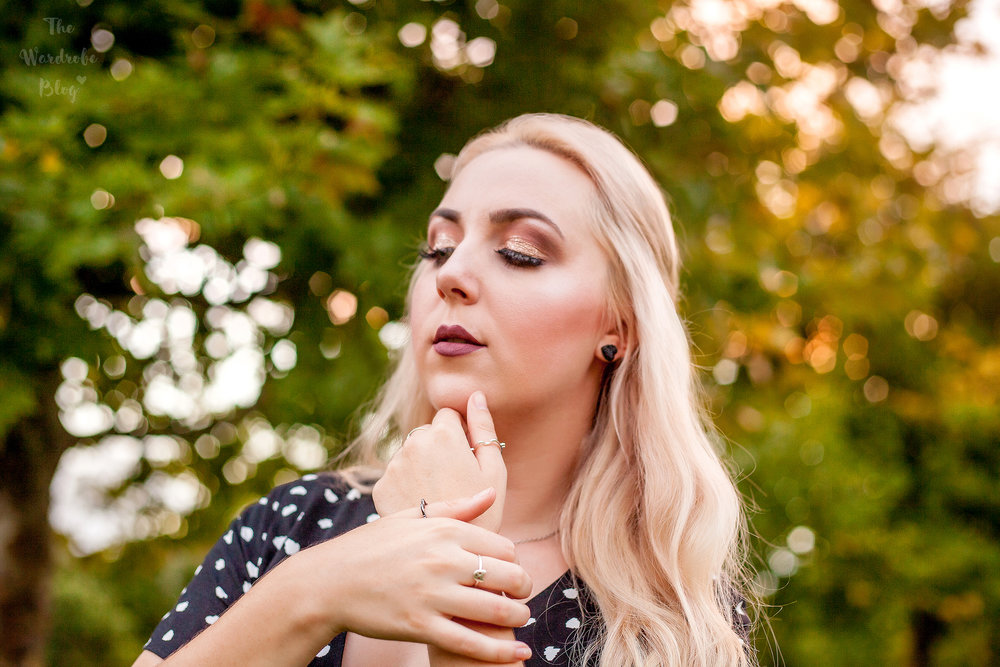 Autumn-Light-Makeup-Polka-Dot-Kmart